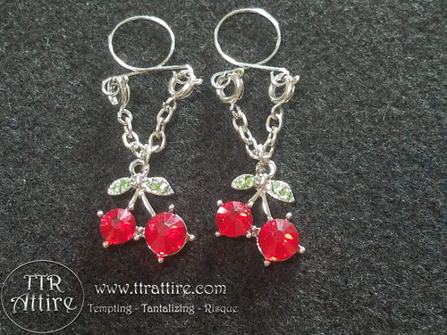 Chillin Cherries Non Piercing Adjustable Nipple Ring