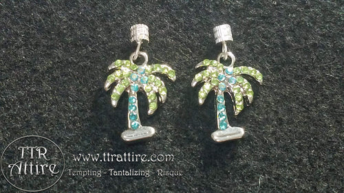 Palm Tree Interchangeable Charm Set