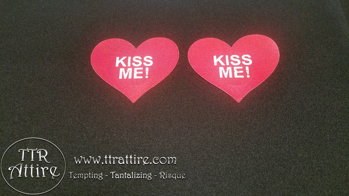 Kiss Me Heart Pasties