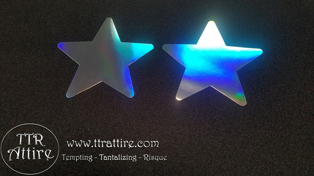 Holographic Mirror Star Pasties