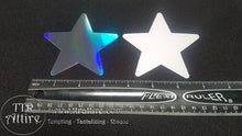 Holographic Mirror Star Pasties Size