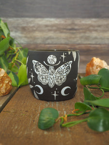#14 - Needle and Thread Cup (We are the tapestry experiencing itself)