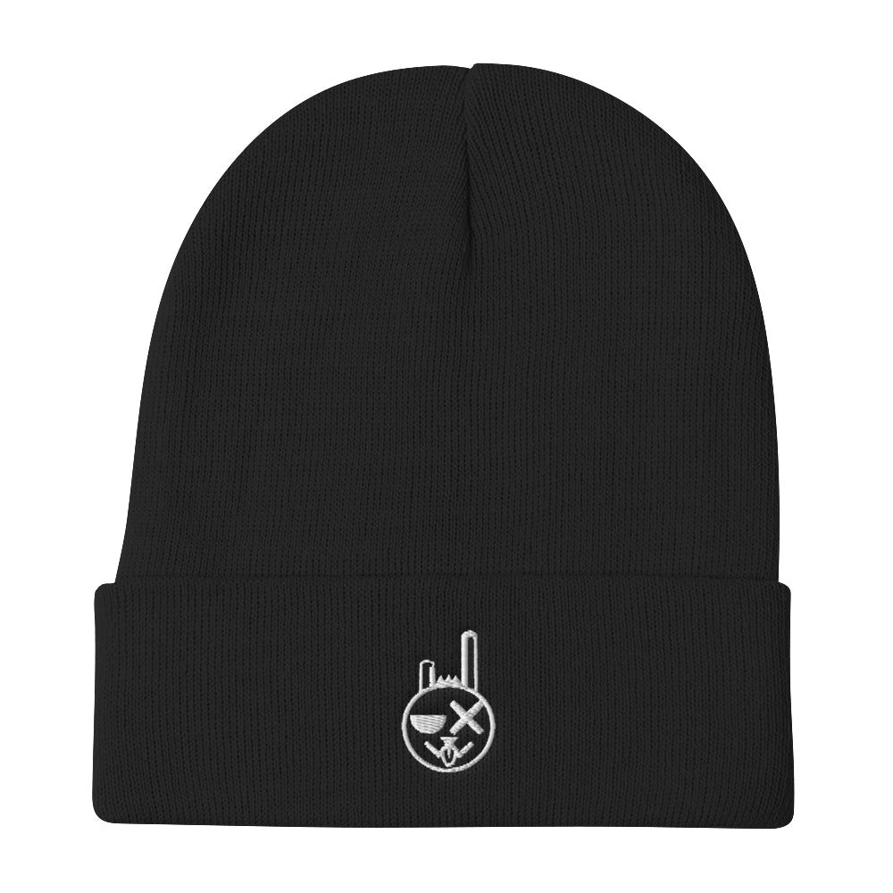 GAAS Rabbit logo - Embroidered Beanie