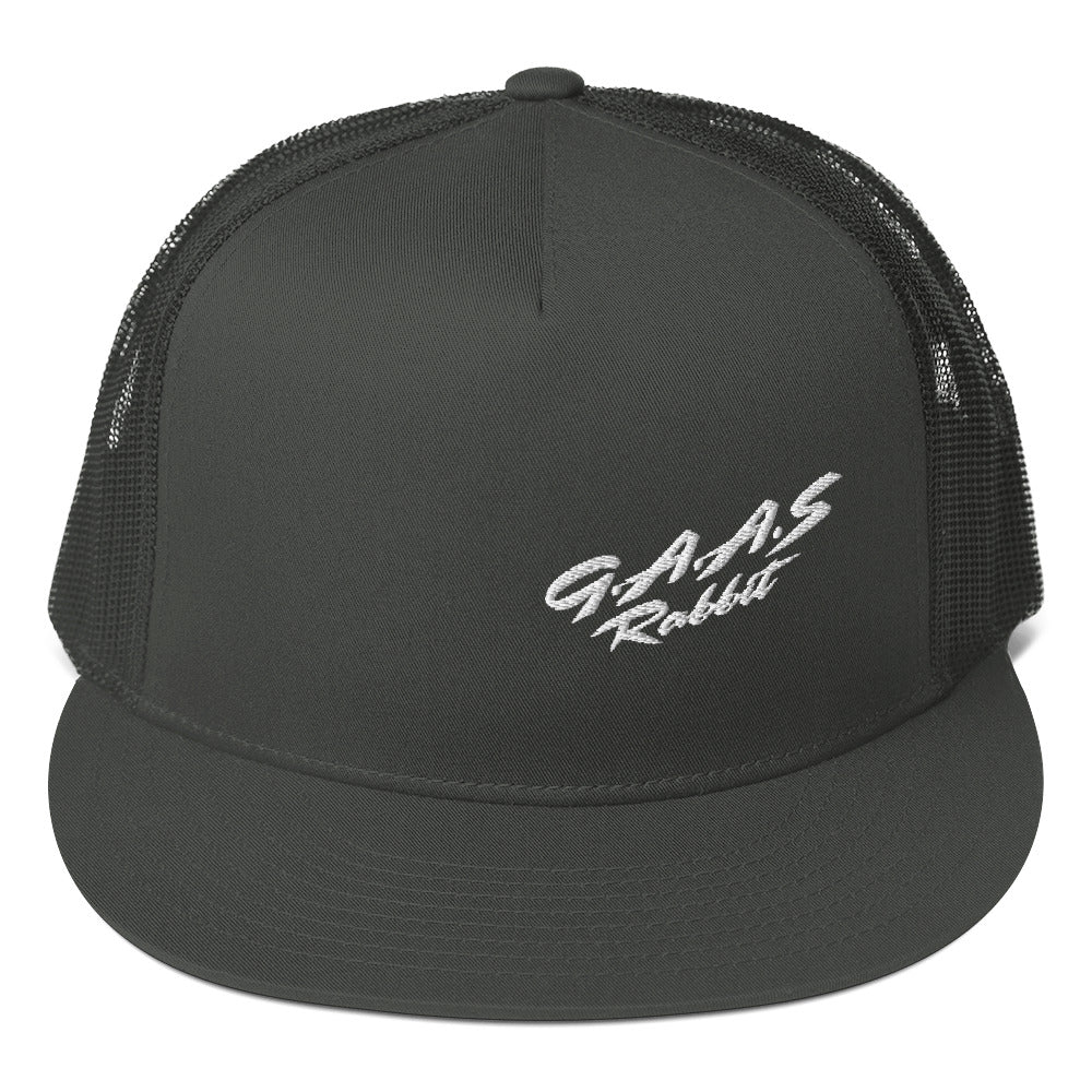 GAAS Rabbit Classic Text - Mesh Back Snapback