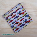 Sandwich Bag/Wrap - Retro Cars Blue