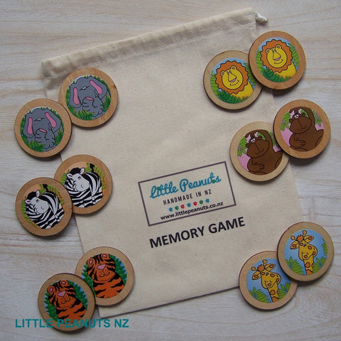 Memory Game - Jungle Animals