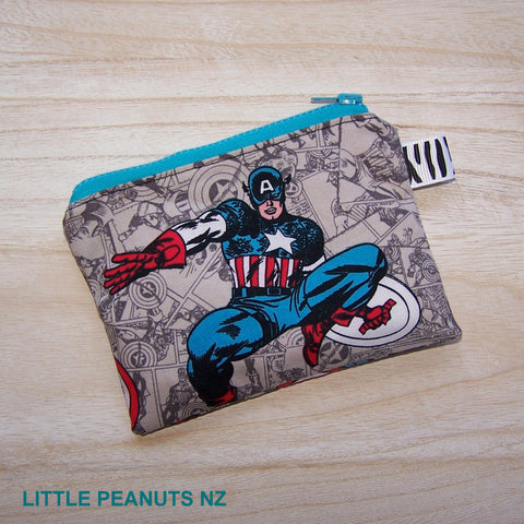Coin/Card purse - Captain America
