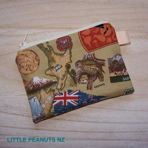 Coin/Card purse - NZ Icons