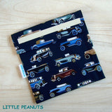 Food Bag/Wrap - Cars Navy
