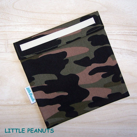 Sandwich Bag/Wrap - Camo Green