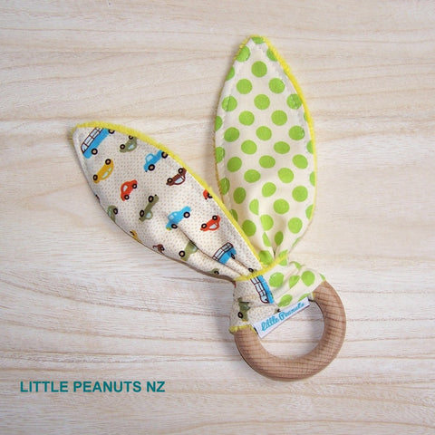 Teething Ring - Cars