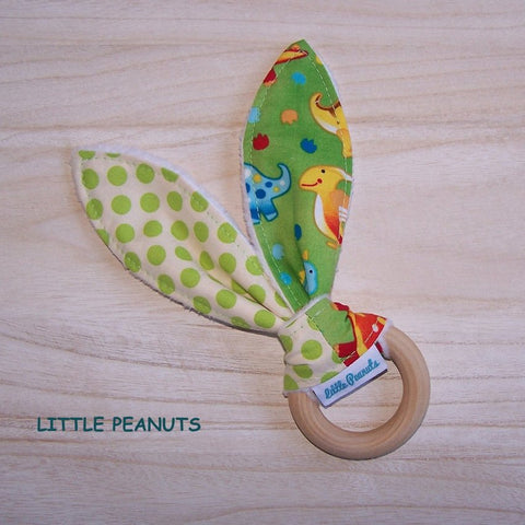 Teething Ring - Dino Dot