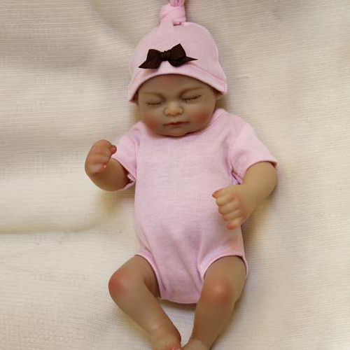 Reborn Baby Doll Lifelike Baby Silicone Girl Doll(The Princess Has Arrived)