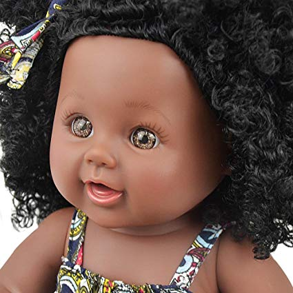 Baby Doll Lifelike Baby Silicone Doll (African American Baby)