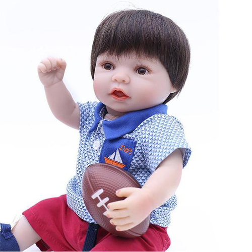 Reborn Baby Doll Lifelike Baby Silicone Doll(I'm arrived)