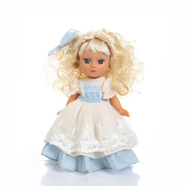 Adorable Girls Doll 12 Inch Fashion Princess Baby Blue