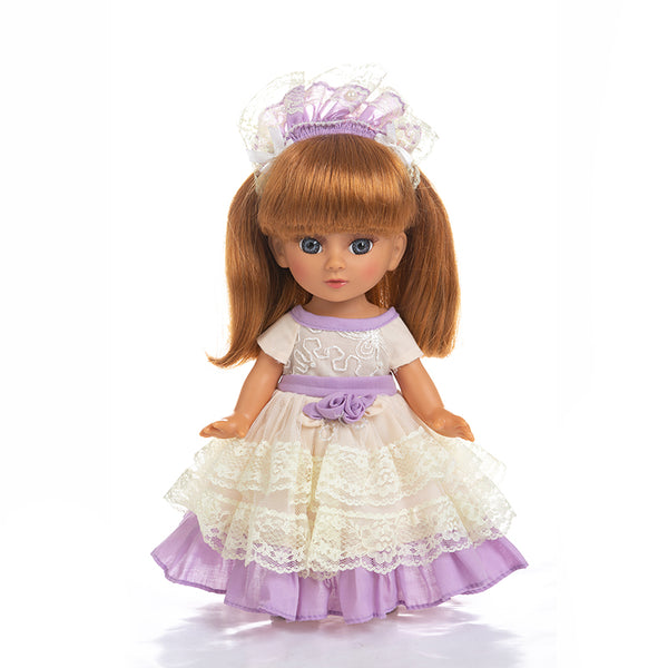 Adorable Girls Doll 12 Inch Fashion Princess Baby Purple