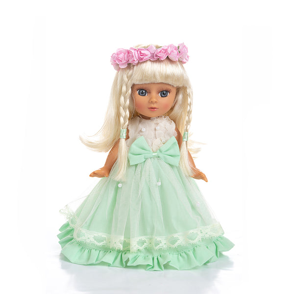 Adorable Girls Doll 12 Inch Fashion Princess Baby Green