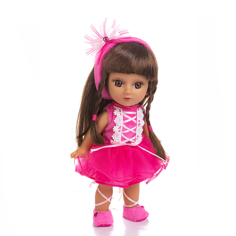 Adorable Girls Doll 12 Inch Fashion Princess Baby Pink