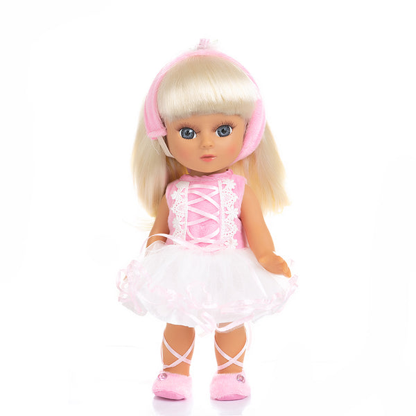 Adorable Girls Doll 12 Inch Fashion Princess Baby Light Pink