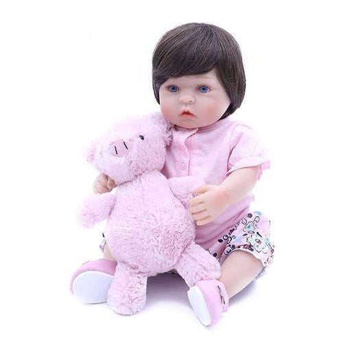 Reborn Baby Doll Lifelike Baby Silicone Doll(Come Play)