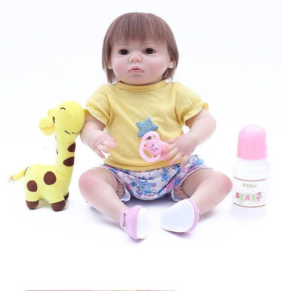 Reborn Baby Doll Lifelike Baby Silicone Doll(Wishes and dreams)