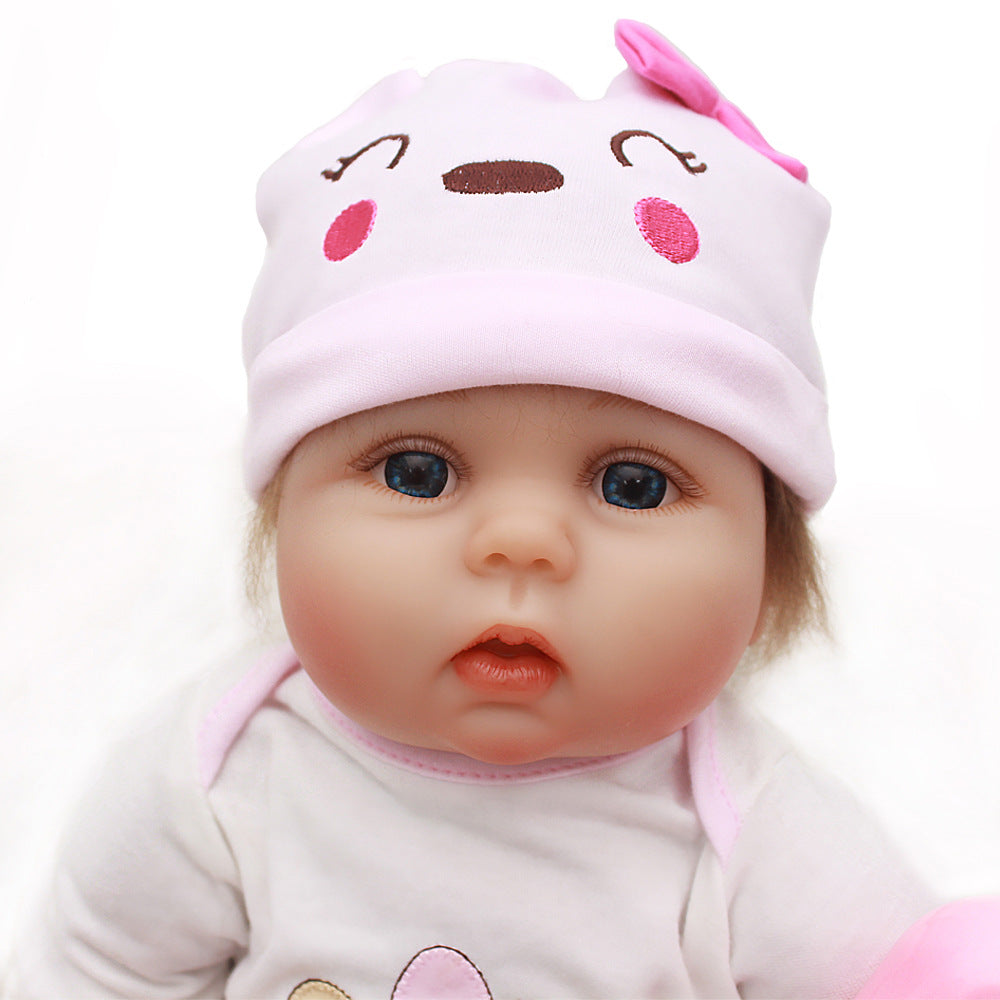 Reborn Baby Doll Lifelike Baby Silicone Doll (Chubby girl)