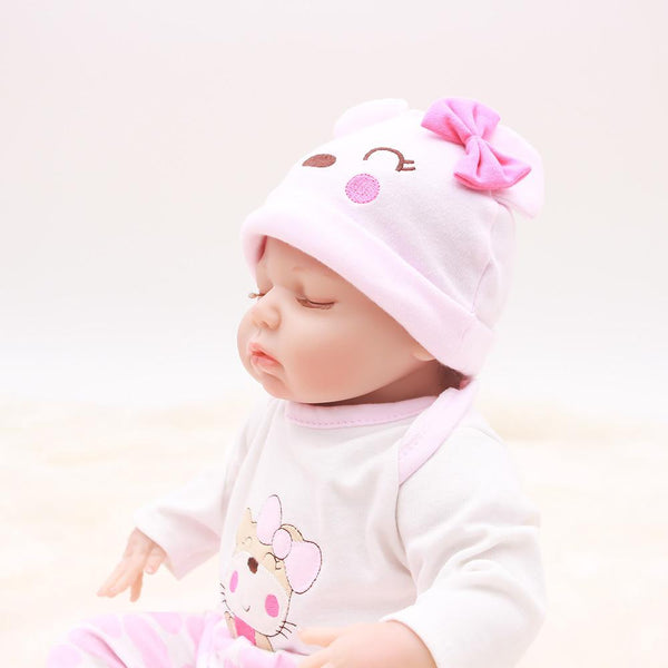 Reborn Baby Doll Lifelike Baby Silicone Doll (Sweet Dream)