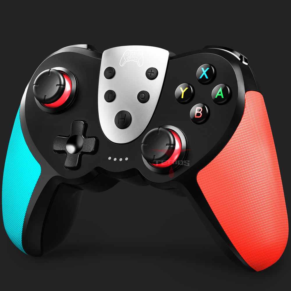 TERIOS T17 Switch Controller - Wireless Controller for Nintendo Switch(Blue&Red)