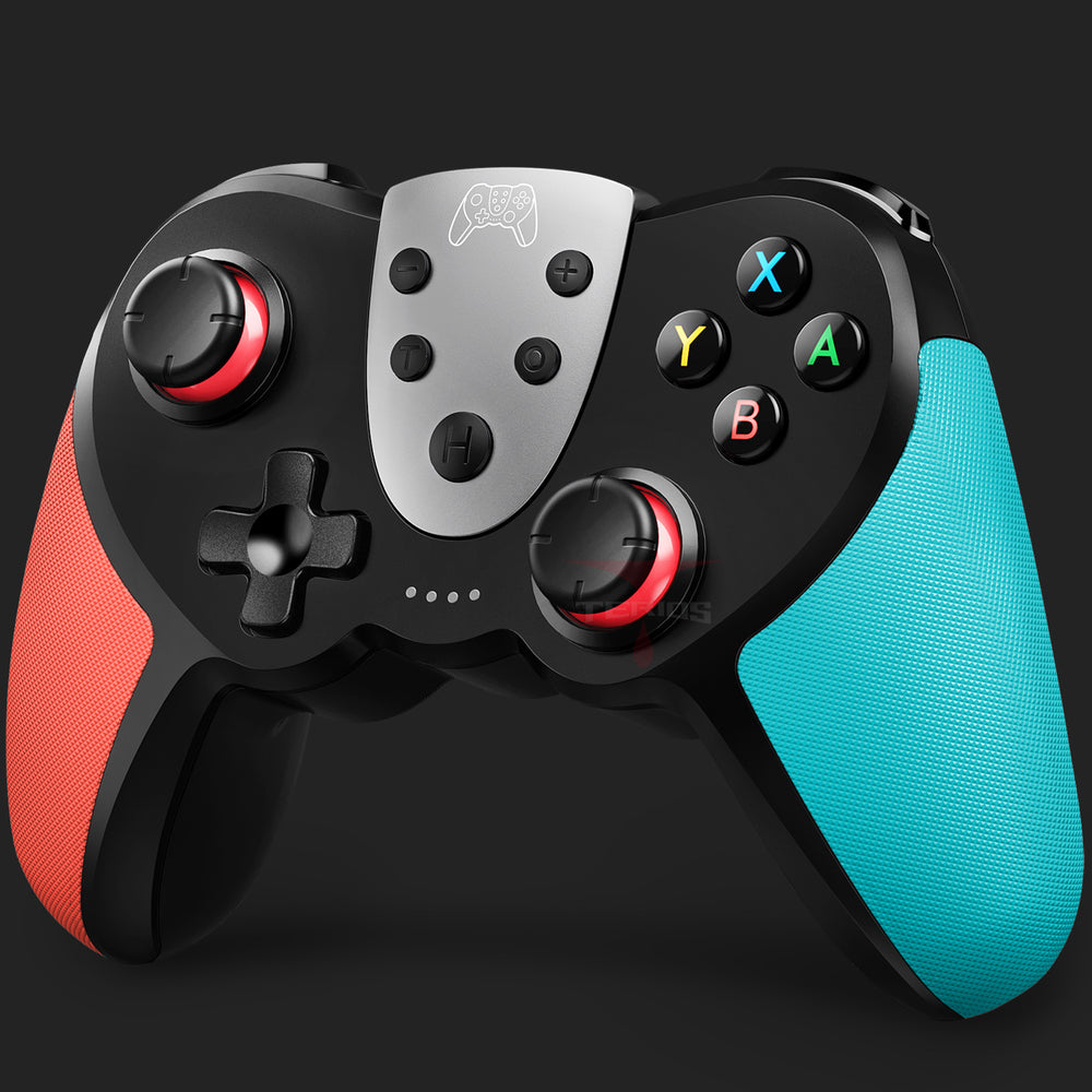 TERIOS T17 Switch Controller - Wireless Controller for Nintendo Switch (Red&Blue)