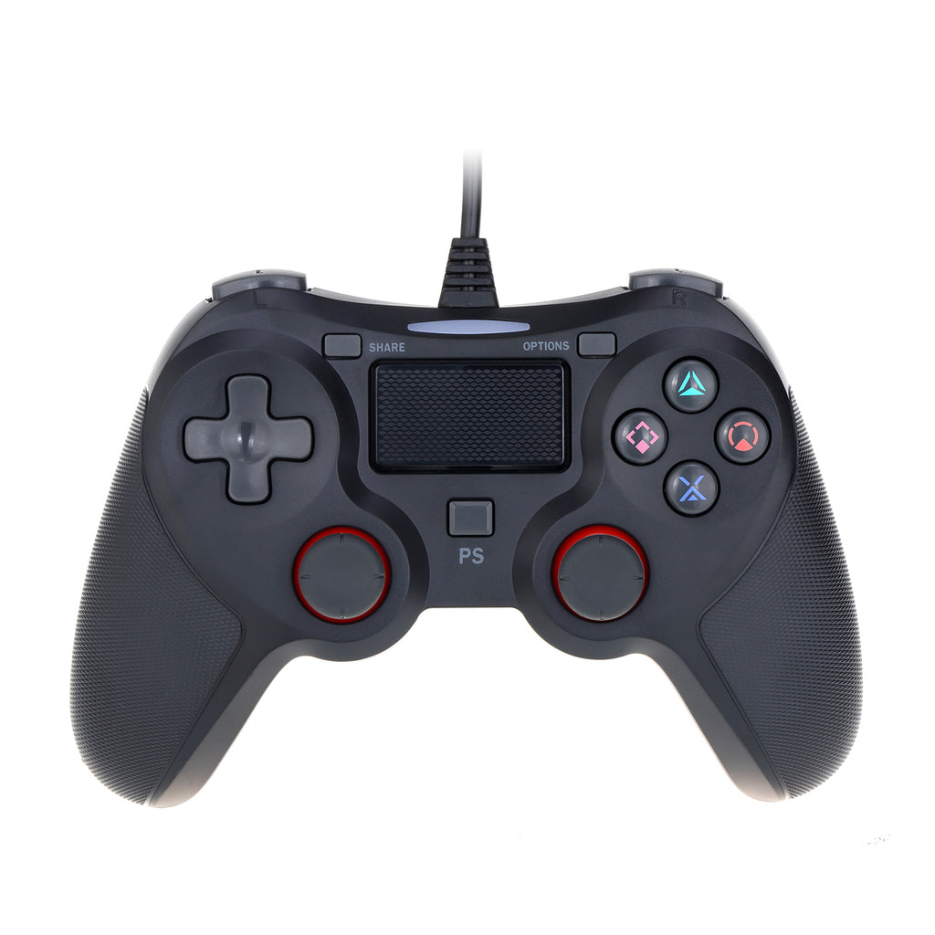 Wired PC Controller for Windows 10/8.1/8/7 / Android / PS4 / Steam Dual Shock Game Gamepad