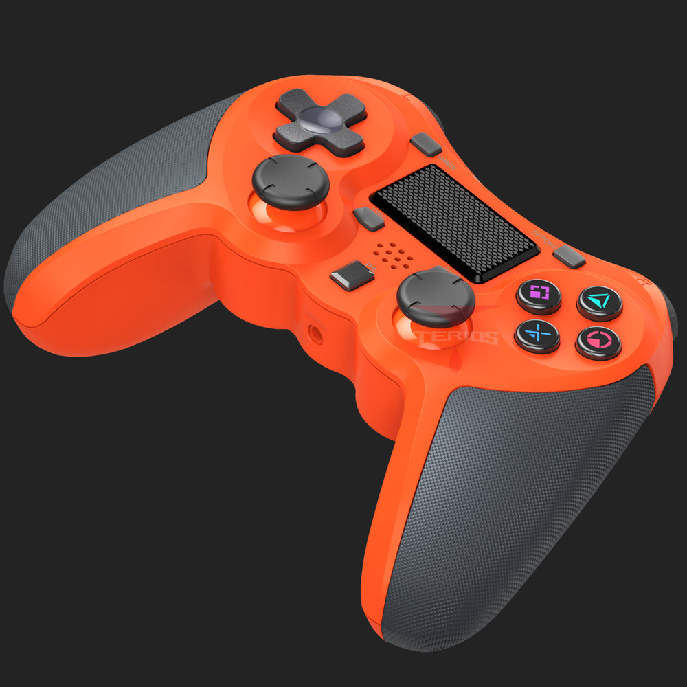 Load image into Gallery viewer, PS4 Wireless Controller – Gaming Remote Compatible with Playstation 4 - Orange