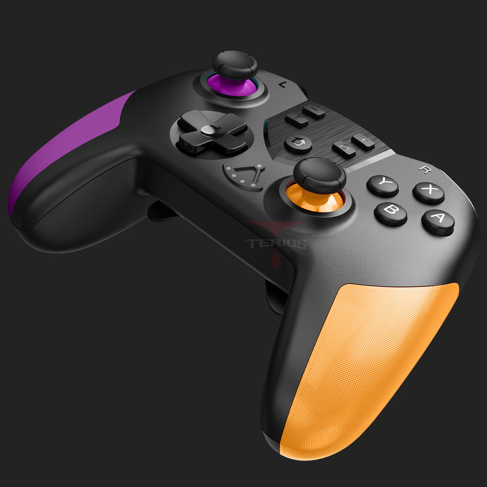 Load image into Gallery viewer, TERIOS T23 Switch Controller  - Wireless Controller for Nintendo Switch(Purple&Yellow)
