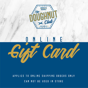 Doughnut Club Gift Card