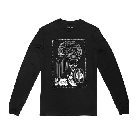 CULTA Time to Decide Long Sleeve [Black]