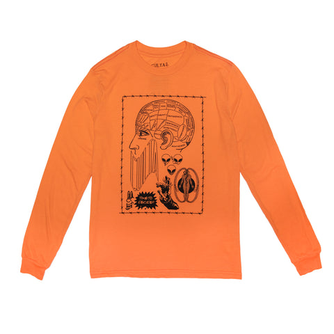 CULTA Time to Decide Long Sleeve [Orange]