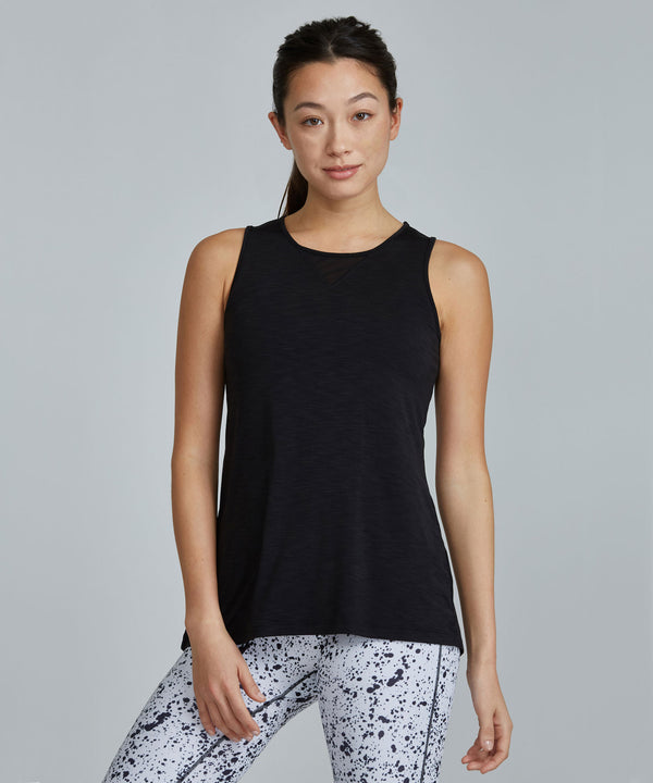 Jazz Top - Black Black Jazz Top - Women's Activewear Tank Top by PRISMSPORT