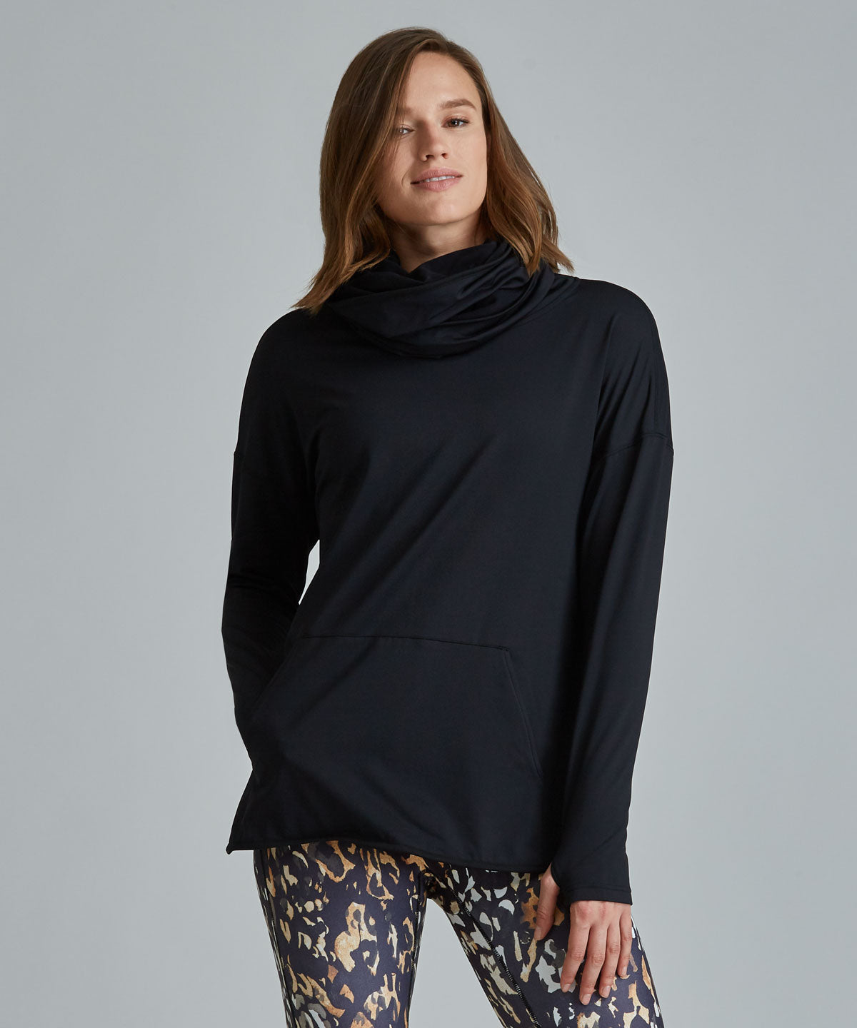 Savasana Hoodie - Charcoal Heather