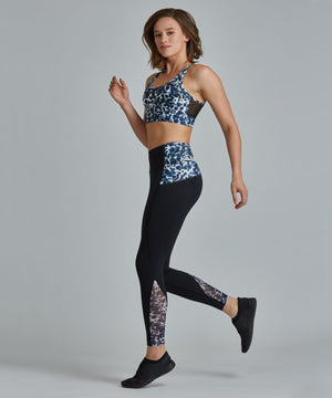 Peace Full-Length Legging - Leopard Leopard Peace Full-Length Legging - Women's Yoga Legging by PRISMSPORT