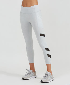 Relay 7/8 Legging - Cloud Cloud Heather Relay 7/8 Legging - Women's Yoga Legging by PRISMSPORT