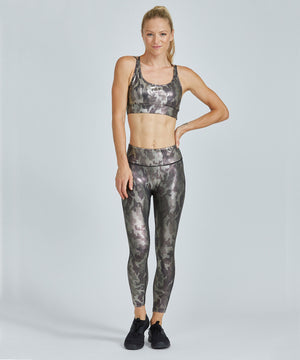 Hi-Waist Barre 7/8 Legging - Glamo Too Glamo Too Hi-Waist Barre 7/8 Legging - Women's Yoga Legging by PRISMSPORT