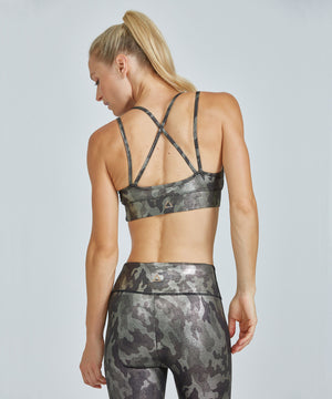Strappy Bra - Glamo Too Glamo Too Strappy Bra - Women's Sports Bra by PRISMSPORT