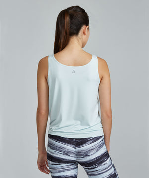 Lucy Top - Ice Blue Ice Blue Lucy Top - Women's Activewear Tank Top by PRISMSPORT