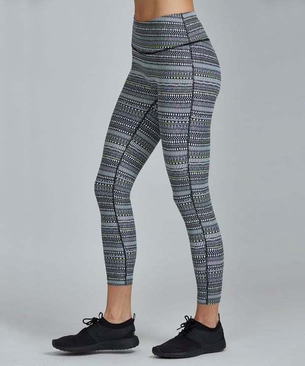 Hi-Waist Barre 7/8 Legging - Keys Keys Hi-Waist Barre 7/8 Legging - Women's Yoga Legging by PRISMSPORT