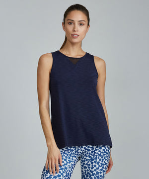 Jazz Top - Navy Navy Jazz Top - Women's Activewear Tank Top by PRISMSPORT