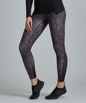 Peace Full-Length Legging - Okapi Okapi Peace Full-Length Legging - Women's Yoga Legging by PRISMSPORT