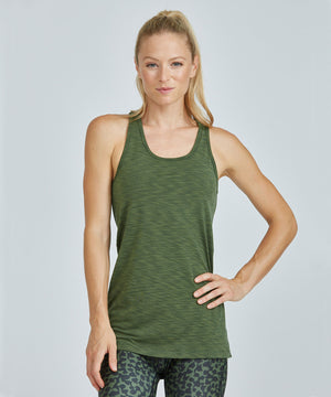Diana Top - Olive Olive Diana Top - Women's Yoga Tank Top by PRISMSPORT