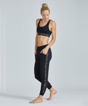 Urban Track Pant - Silver Travertine Silver Travertine Urban Track Pant - Women's Activewear Pant by PRISMSPORT