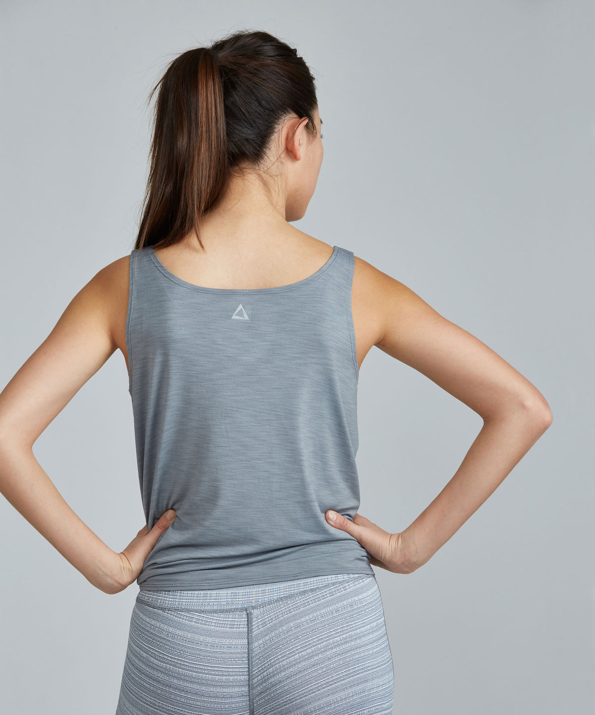 Lucy Top - Slate Slate Lucy Top - Women's Activewear Tank Top by PRISMSPORT