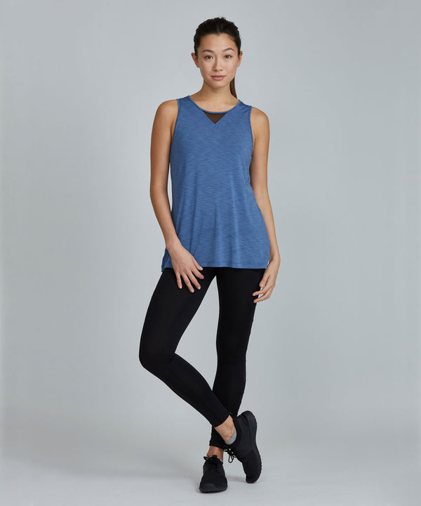 Jazz Top - Smoke Smoke Jazz Top - Women's Activewear Tank Top by PRISMSPORT